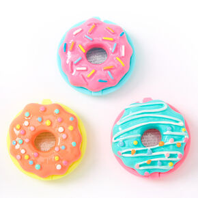 Neon Donuts Lip Gloss Set - 3 Pack,
