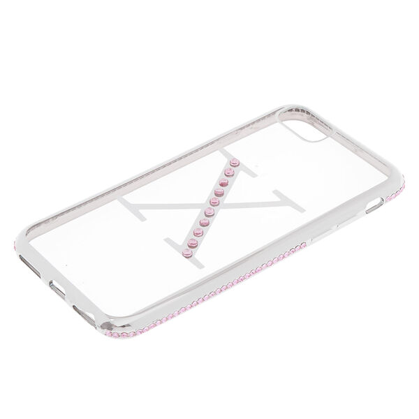 Claire's - stone x initial phone case - 2