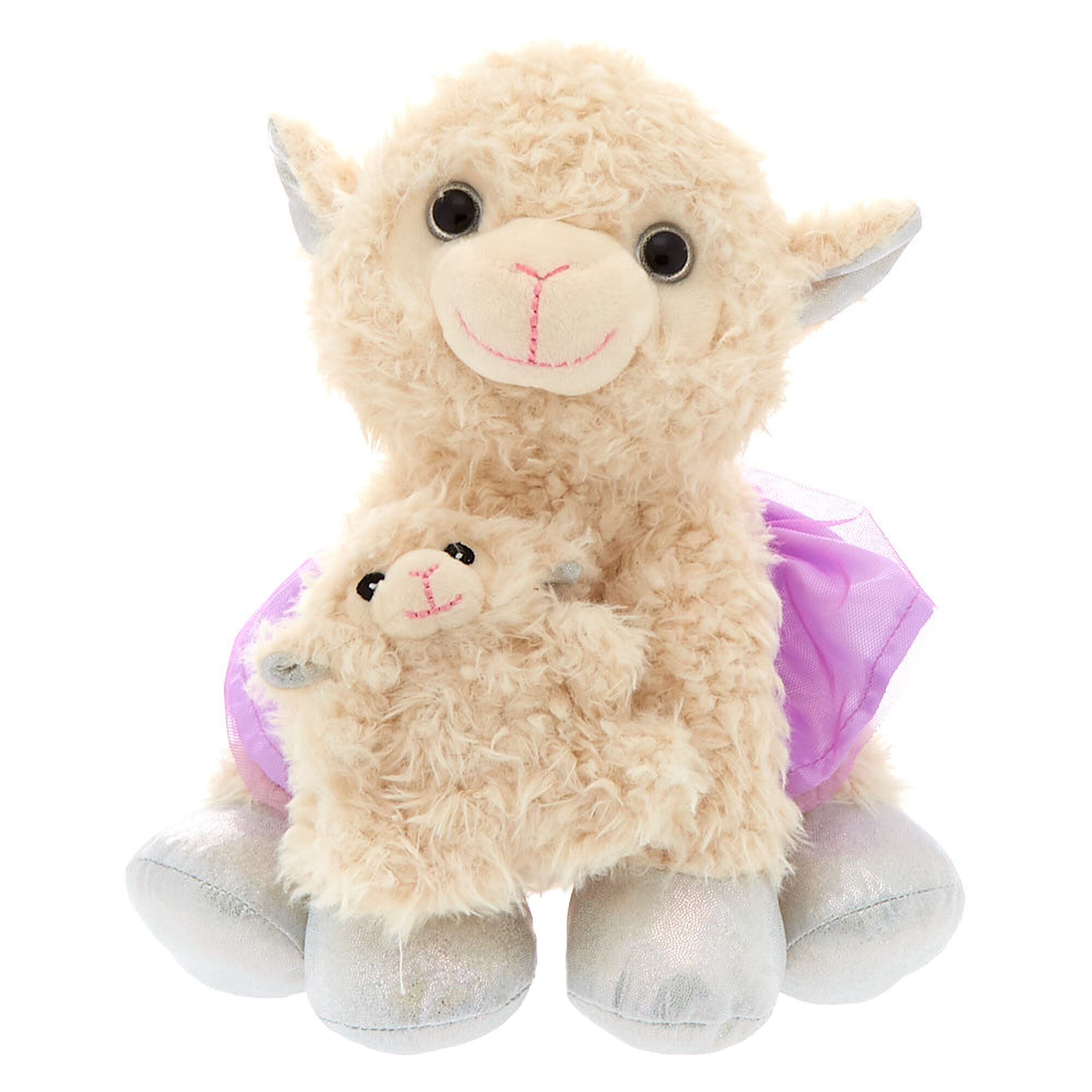 Llama Mama Baby Plush Toys Claire S Us