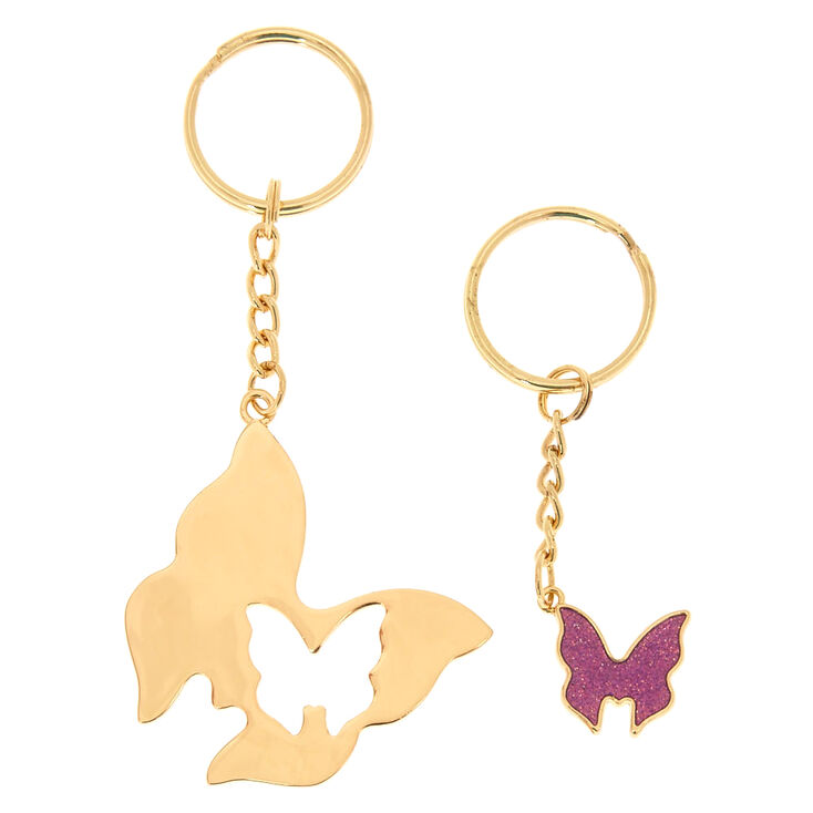 Butterfly BFF Keychains,