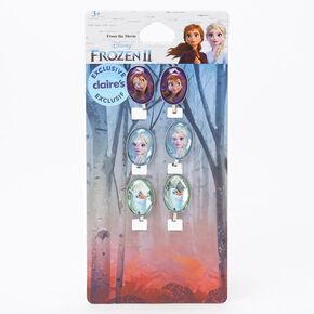 ©Disney Frozen 2 Silver Clip On Earrings - 3 Pack,