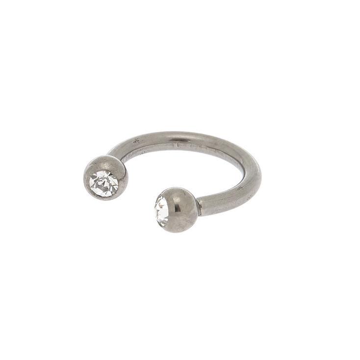 Titanium 16g Horseshoe Cartilage Hoop Earring