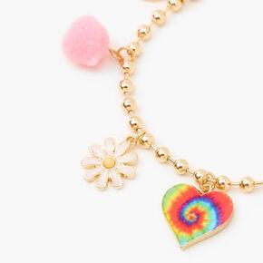 90's Charm Bracelet - Gold,