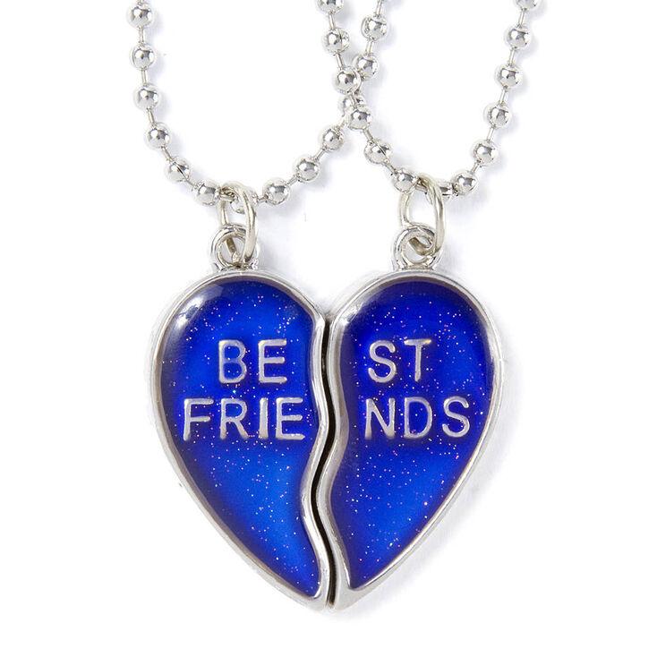 Mood Heart Pendant Necklaces