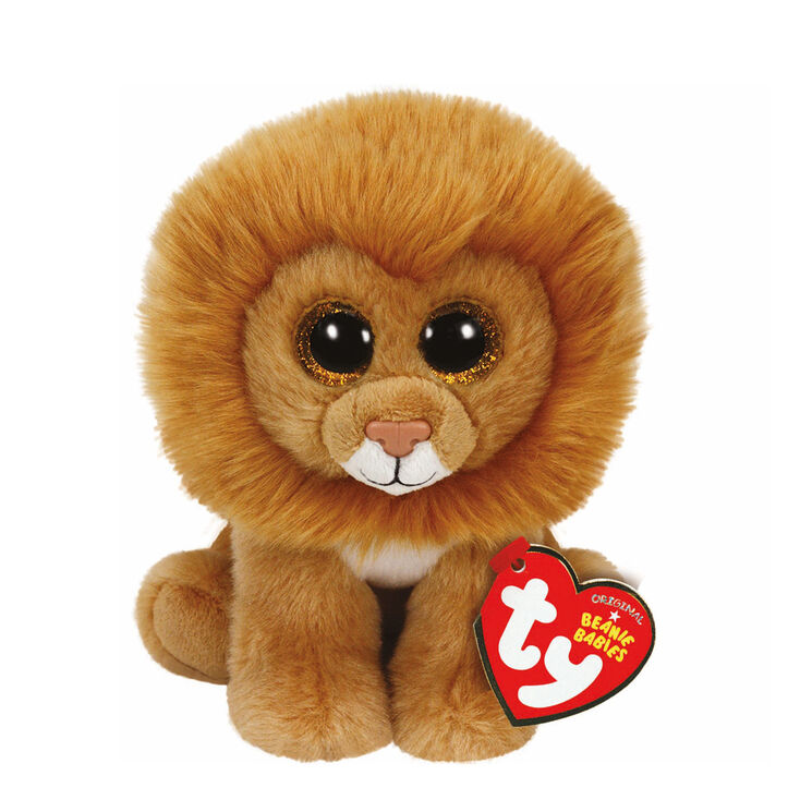 TY Beanie Babies Small Louie the Lion Soft Toy  35550458a011
