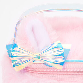 Pastel Fox Makeup Bag - Pink,