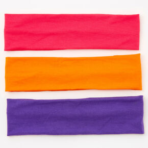 Bright Solids Headwrap Set - 3 Pack,