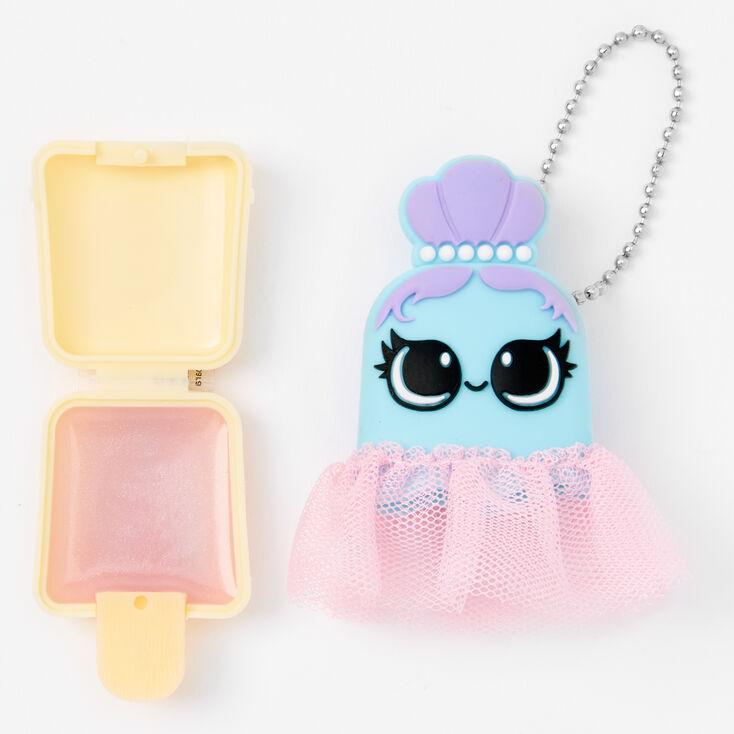 Pucker Pops Ballerina Lip Gloss - Raspberry Cream,