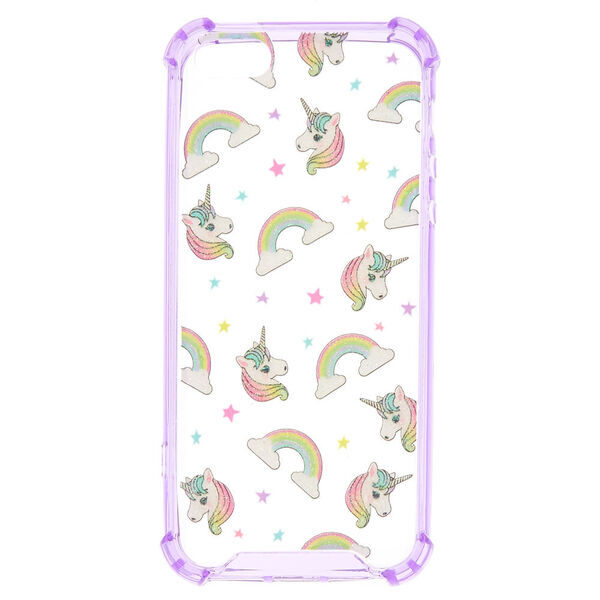 Claire's - puffy unicorn protective phone case - 1