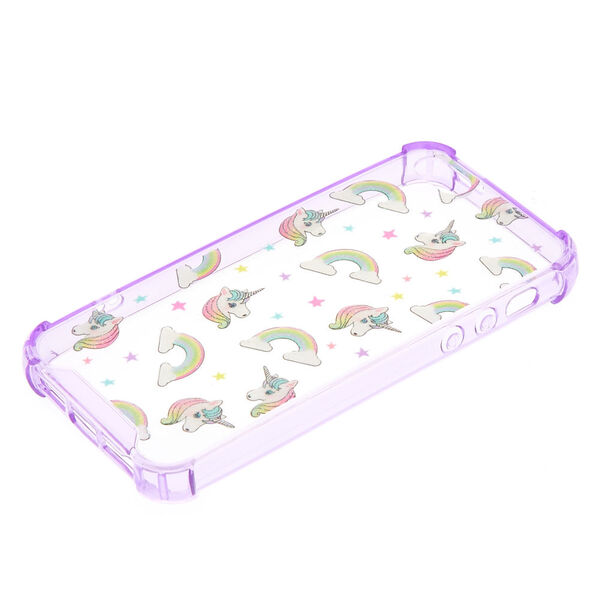 Claire's - puffy unicorn protective phone case - 2