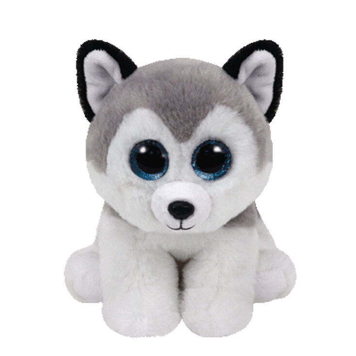 Ty Beanie Boo Small Buff The Husky Dog Plush Toy Claire S Us