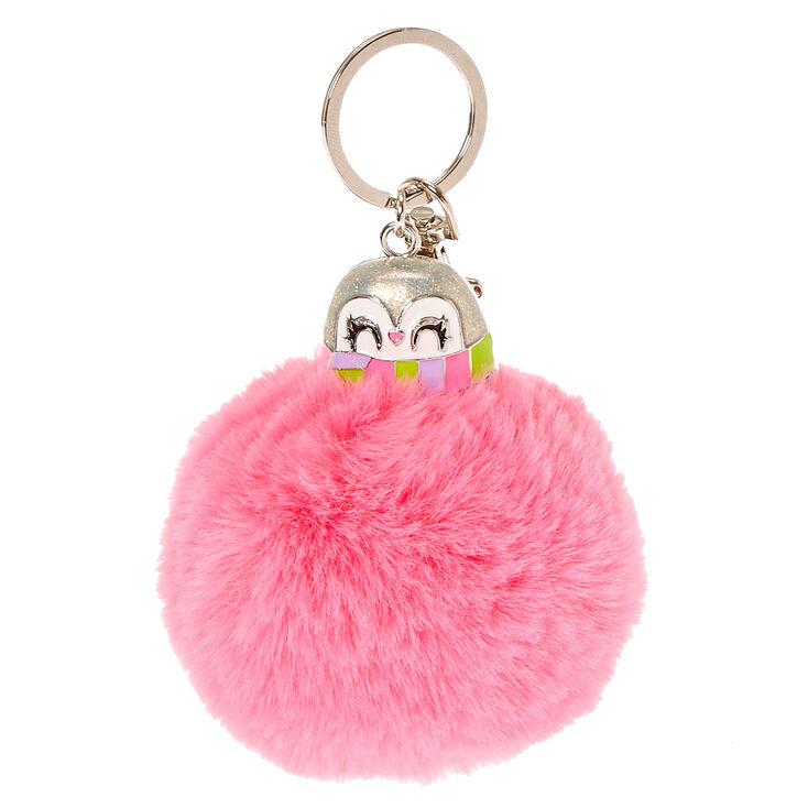8028138be051 Peppie the Penguin Pom Pom Keychain