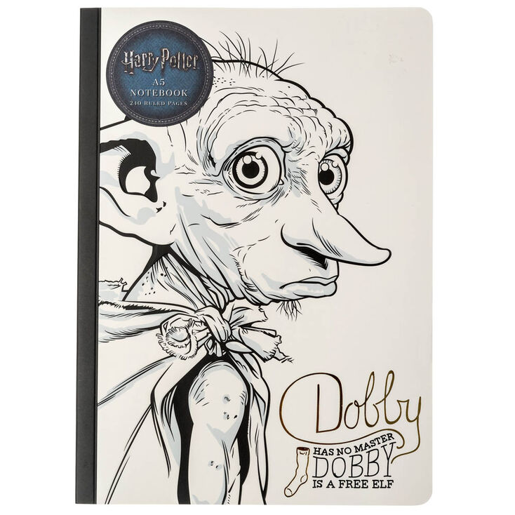 Harry Pottertrade Dobby The House Elf A5 Notebook