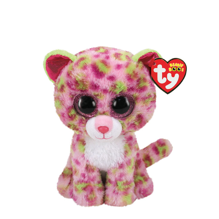 Ty Beanie Boo Small Lainey the Leopard Soft Toy,