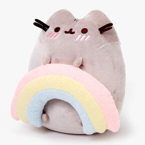 Pusheen® Medium Rainbow Plush - Grey,