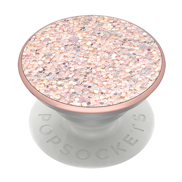 66a5df61 Sparkle Rose PopGrip PopSocket | Claire's