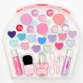 Claire's Club Cupcake Lunchbox Makeup Set - Pink,