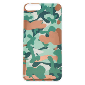Rose Gold Camo Phone Case - Fits iPhone 6/7/8/SE,
