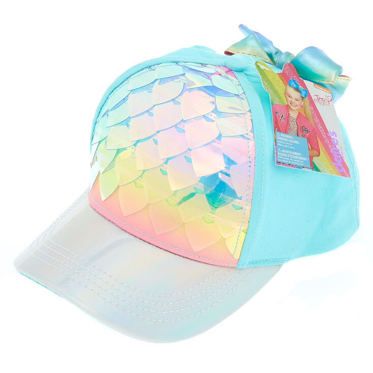 JoJo Siwa trade  Rainbow Sequin Hearts Baseball Cap ... dbbb8342b17