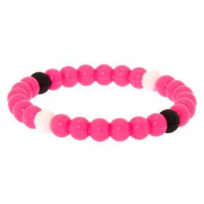d87f60fa5 Neon Fortune Stretch Bracelet - Pink