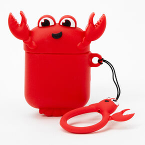 Red Lobster Silicone Earbud Case - Compatible with Apple AirPods,