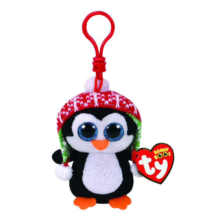 d14be544671 Ty Beanie Boo Penelope the Penguin Plush Keyring Clip
