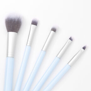 Makeup Brush Set - Light Blue,