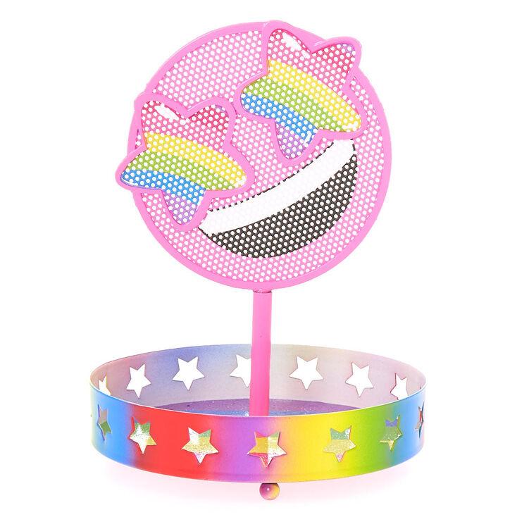 Rainbow Earring Stand w Earrings