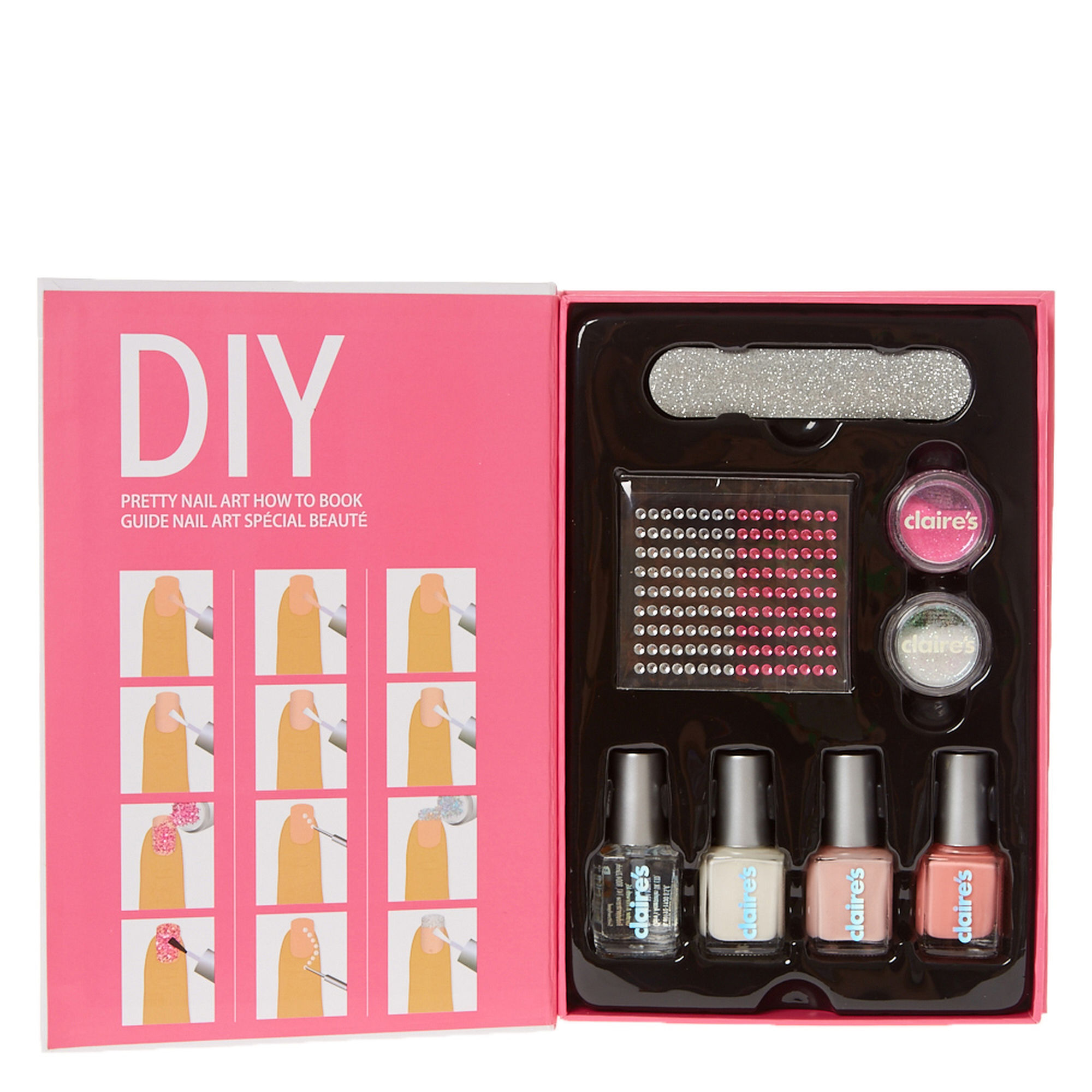 DIY Pretty Nail Art How To Book | Claire\'s US