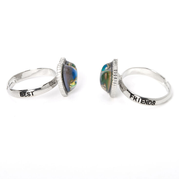 Best Friends Heart Mood Rings - 2 Pack,