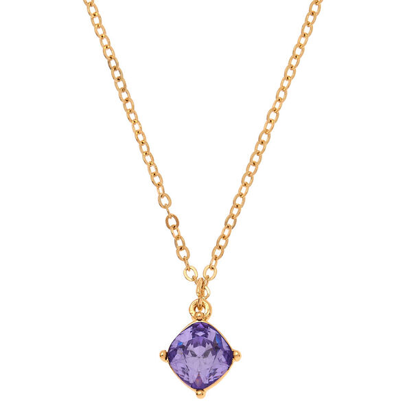 Claire's - june birthstone pendant necklace - 1