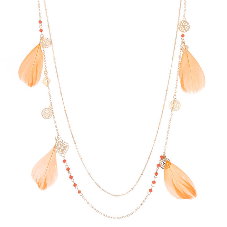 Silver Charm BeadsFiligree Multi Strand Necklace  and earrings set