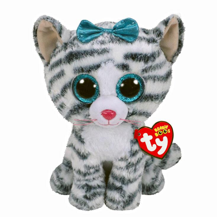 68ac5b58fd5 Ty Beanie Boo Medium Quinn the Cat Soft Toy