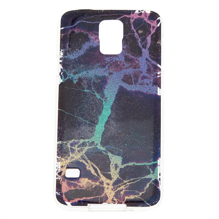 hot sale online b4780 703b0 Midnight Cracked Marble Phone Case - Fits Samsung Galaxy S5