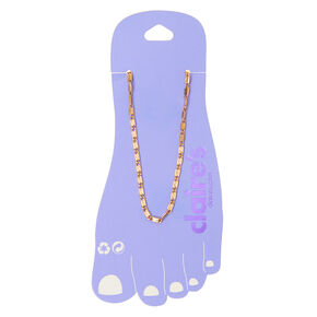 Bracelet de cheville Sicile couleur doré,