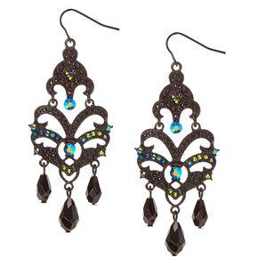 Iridescent Drop Earrings,