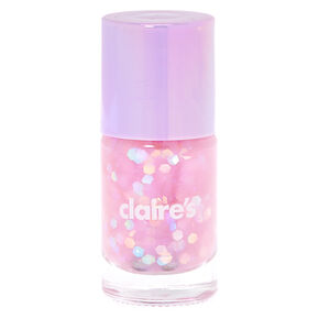 Purple Pastel Glitter Nail Polish,