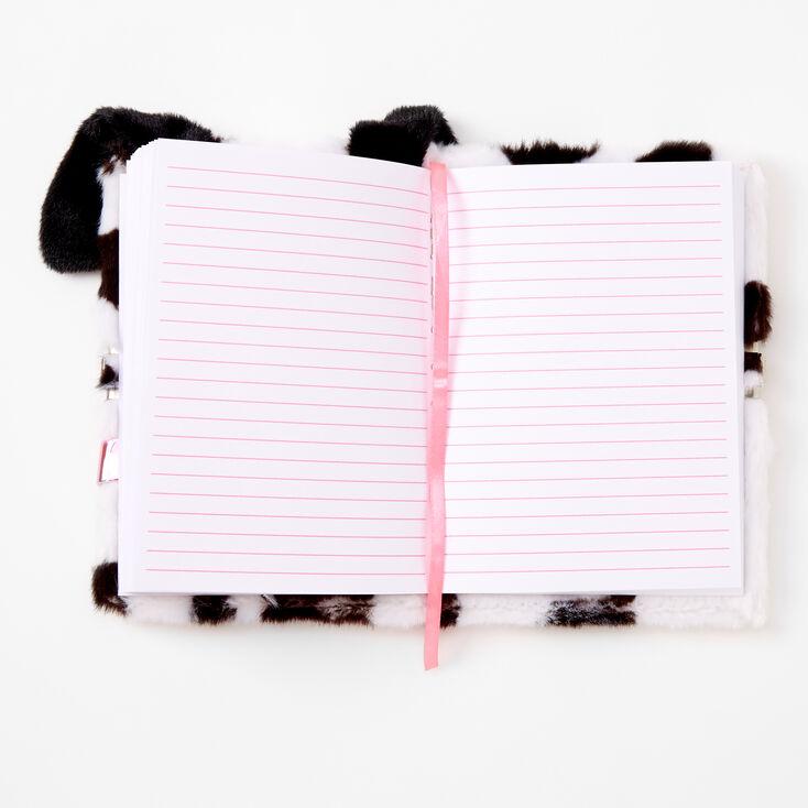 Dalmatian Furry Lock Diary,