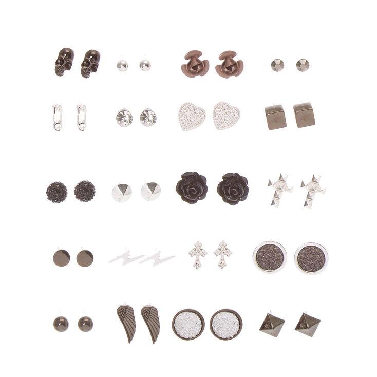 Gothic Romance Stud Earrings - 20 Pack,