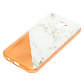 Rose Gold Marble Phone Case - Fits Samsung Galaxy A7,