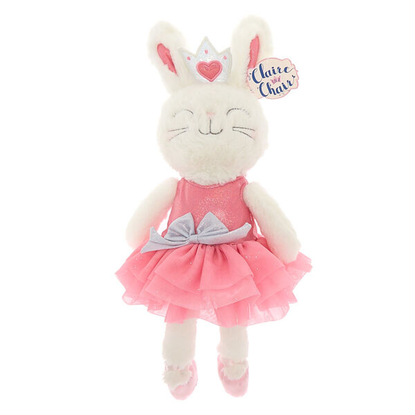 Claire's - claireon a chair soft toy - 1