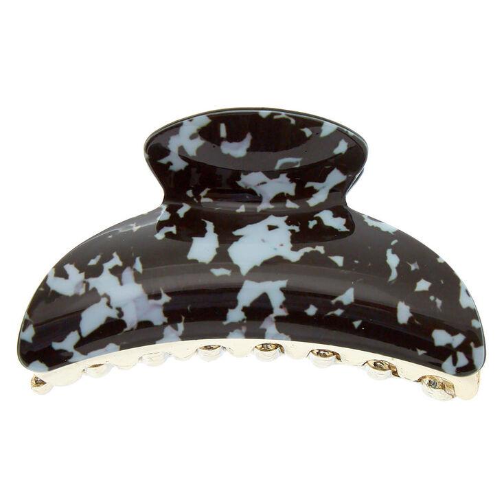 Black & White Tortoiseshell Hair Claw,