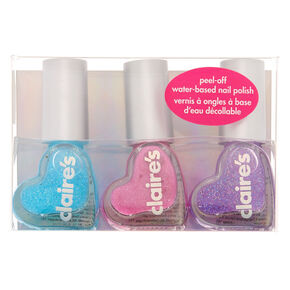 Mermaid Vibes Peel-Off Nail Polish Set - 3 Pack,