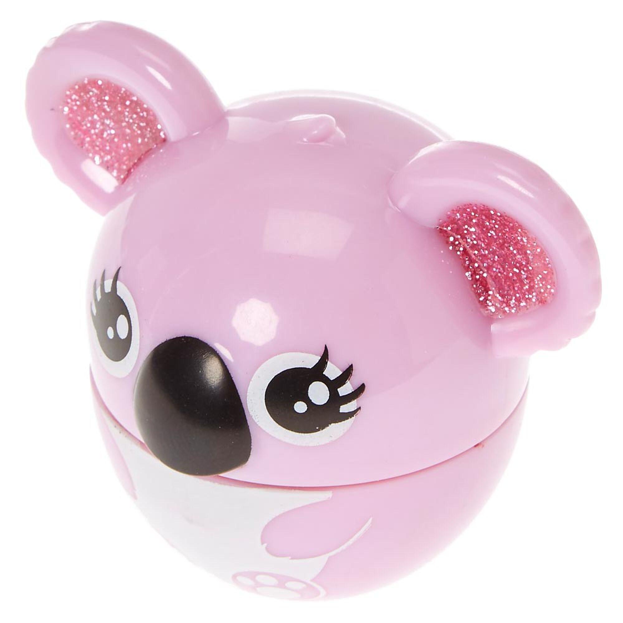 pink koala raspberry flavored lip gloss