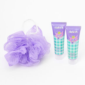 Ensemble de toilette bouteille de soda POP! - Raisin (Grape Splash),