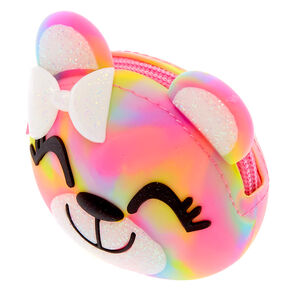 Sugar the Bear Rainbow Jelly Coin Purse,