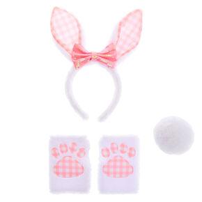Gingham Bunny Dress Up Set - 3 Pack,