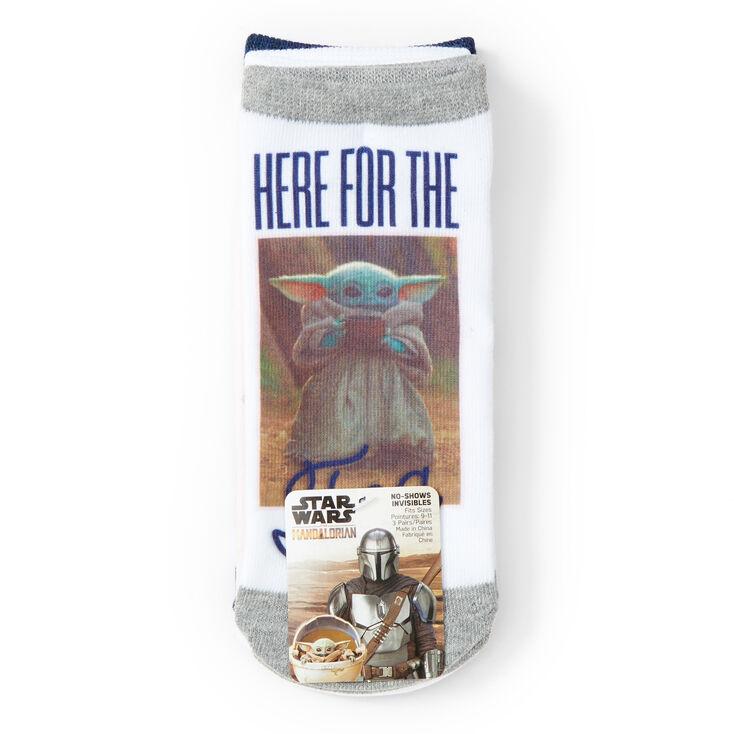 Star Wars™: The Mandalorian the Child No-Show Socks - 3 Pack,