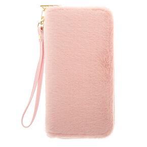 Furry Wristlet - Pink,