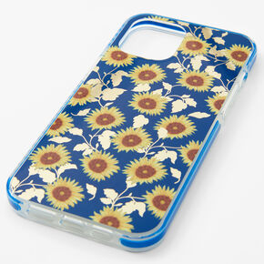 Navy Sunflower Phone Case - Fits iPhone® 12 Pro Max,
